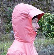 UGLOW U-rain hybrid jacket hood