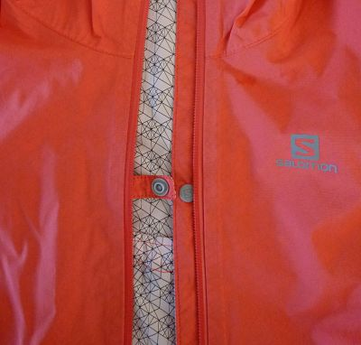 Salomon Lightning Jacket - Front Popper