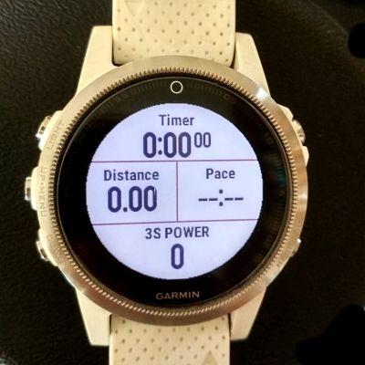 Garmin Fenix 5S Power Screen