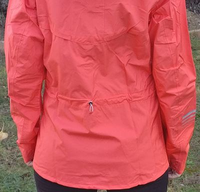 Salomon Lightning Jacket - Back with drawstring
