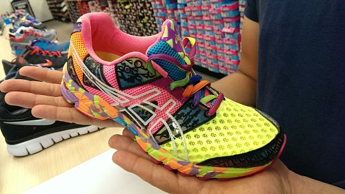 running shoe shop