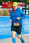 Crossing the finish line of my first marathon (2016)!